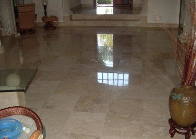 St Petersburg Travertine Powder Polishing