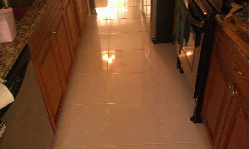 Tile & Grout Cleaning and Sealing-After
