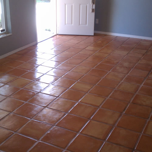Saltillo Tile Floor Cleaning & Refinishing