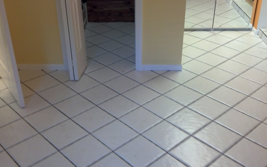 Our Ceramic Tile and Grout Cleaning gets Grout as Clean as Brand New!