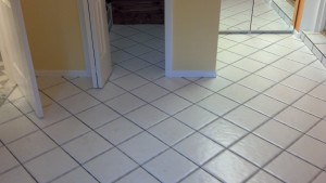 Ceramic Tile and Grout Cleaning by the Floor Cleaning Experts