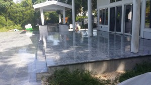 Marble Floors cleaned and sealed by Floor Cleaning Experts.