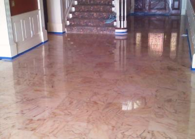 Clearwater Marble Leveling Polishing & Regrouting - Tom Workman