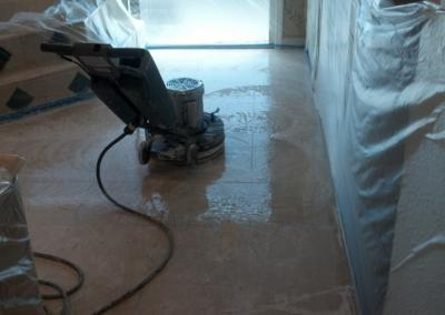 Marble Polishing-Walls protected - Tom Workman