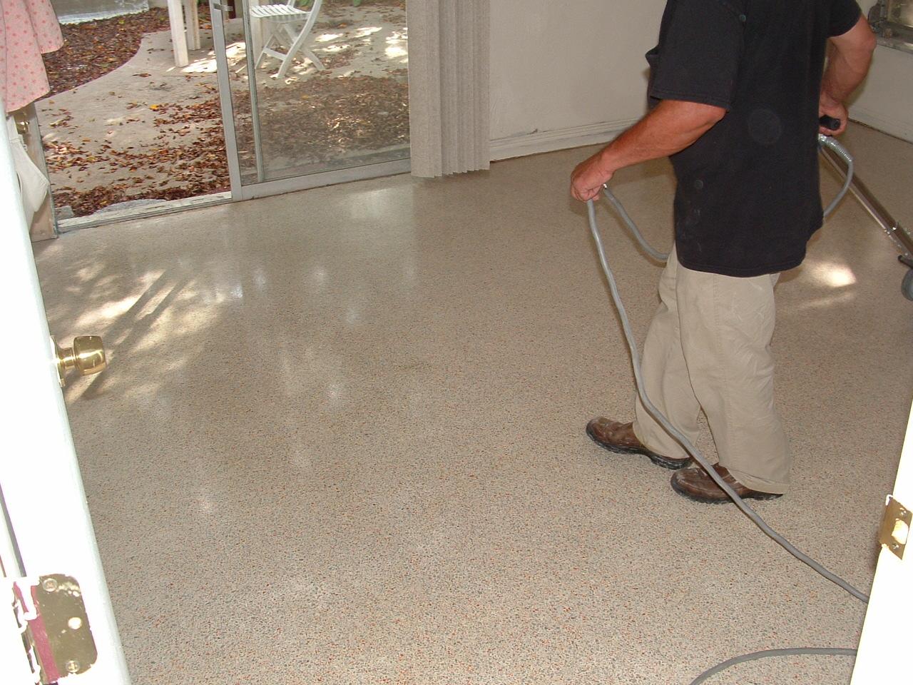 Gorgeously Restored Terrazzo Floors
